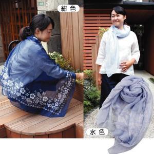 野菜たね 資材 虫よけ小花柄ストール 紺色 1枚 / 種 タネ|kokkaen