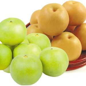 梨 大人気 赤梨・青梨 食比べセット 9kg(和歌山産:豊水梨4kg・鳥取産:二十世紀梨5kg)ほうすい なし 和梨 果物 フルーツ 国華園|kokkaen