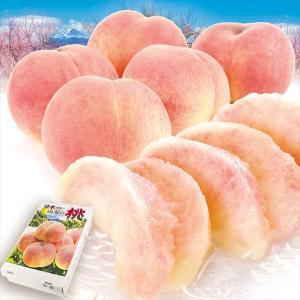 桃 山梨産 笛吹の桃 特大(3kg) 秀品 正品 品種おまかせ もも ピーチ フルーツ 国華園|kokkaen