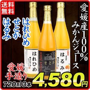 愛媛の濃厚・極甘ジュースセット 3種3本 グルメ 食品 国華園
