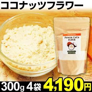 ココナッツフラワー 4袋 食品|kokkaen
