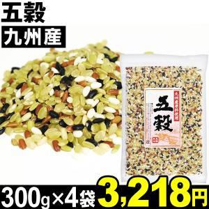 穀物 九州産 五穀 4袋 食品|kokkaen