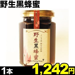はちみつ 野生黒蜂蜜 1本 食品|kokkaen