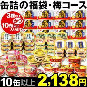 缶詰 缶詰の福袋・梅コース 1組 食品 kokkaen