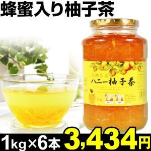 柚子茶 蜂蜜入り柚子茶 6本 (1本1kg入り) 食品|kokkaen
