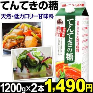 天然甘味料 てんてきの糖 2本(1本1200g入り) 食品|kokkaen