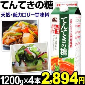 天然甘味料 てんてきの糖 4本(1本1200g入り) 食品|kokkaen