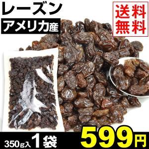 ドライフルーツ アメリカ産 レーズン 1袋1組 1袋350g入り  メール便 送料無料 干しぶどう ポイント消化|kokkaen