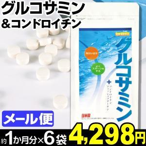 サプリメント グルコサミン&コンドロイチン 2袋 (1袋150粒入り:約1カ月分) メール便 食品|kokkaen