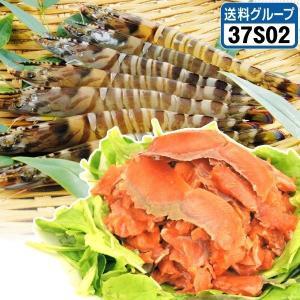 車海老&スモークサーモン 2種1組 冷凍便 食品◎ グルメ|kokkaen
