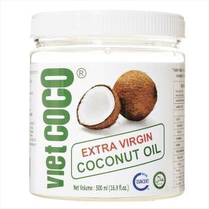オイル 食用油 ベトナム産 ココナッツオイル(1個)500ml 無添加 無精製 トランス脂肪酸ゼロ 国華園|kokkaen