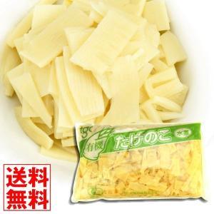 水煮 たけのこ水煮(短冊) 1袋 (1袋1.5kg入り) 大袋 食品 国華園|kokkaen