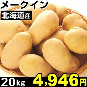 ジャガイモ 北海道産 メークイン 20kg 1組...