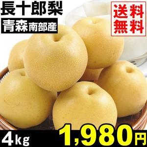 梨 青森南部町産 長十郎梨 4kg 1箱 送料無料 和梨【数量限定】|kokkaen