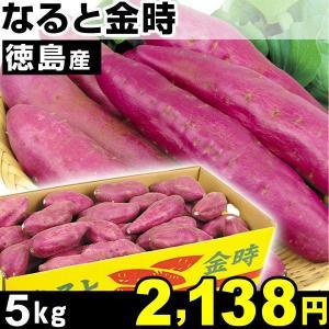 サツマイモ 徳島産 なると金時  5kg1組 食品|kokkaen