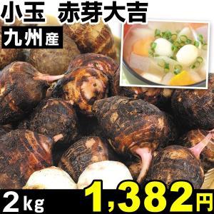 サトイモ 九州産 小玉 赤芽大吉 2kg1組 里いも 食品 kokkaen