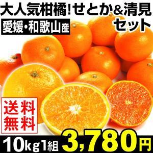 みかん 大人気柑橘!せとか&清見セット 10kg1組 ご家庭...