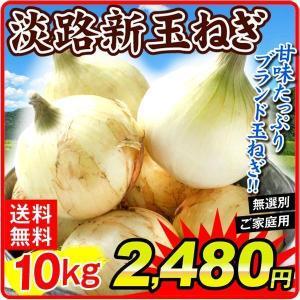 玉ねぎ 淡路島産 新たまねぎ 10kg1箱 食品|kokkaen