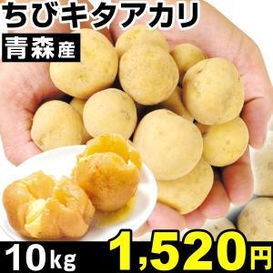 じゃがいも 青森産 ちびキタアカリ 10kg1箱 食品|kokkaen