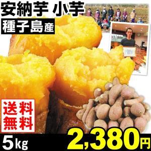 安納芋 種子島産 安納芋 小芋 5kg1箱 送料無料 さつまいも 食品|kokkaen