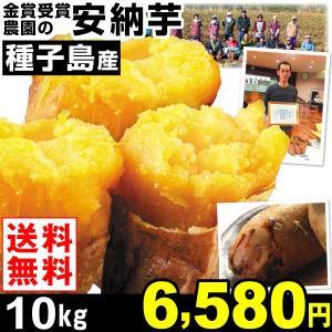 安納芋 種子島産 安納芋 【正品】 10kg1箱 M〜Lサイズ混合 送料無料 さつまいも 食品|kokkaen