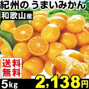 みかん 和歌山産 紀州のうまいみかん 5kg1箱 送料無料 蜜柑 食品|kokkaen