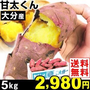 さつまいも 大分産 甘太くん 5kg1組 送料無料 紅はるか さつま芋 食品|kokkaen