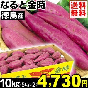 さつまいも 徳島産 なると金時 10kg1組 送料無料 芋 食品|kokkaen