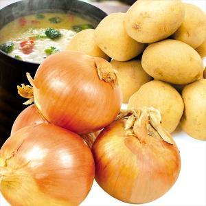 たまねぎ じゃがいも 北海道産 じゃがたまセット 2種約10kg1箱 野菜 国華園|kokkaen
