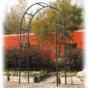 バラアーチ 鉄製アーチSP 1個 幅140・奥行40・高さ240 ガーデンアーチ ローズアーチ ガーデニング|kokkaen