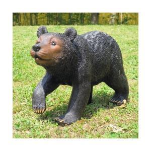 ガーデンオーナメント 動物 クマ ずんずんくま 1個  精巧ポリ製|kokkaen