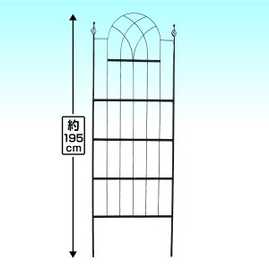 クリアランス商品 鉄製ネオロケットフェンスN 2枚1組 ガーデンフェンス ガーデニング アイアン 柵 通常価格 6782円 ⇒ 4980円 26%OFF|kokkaen