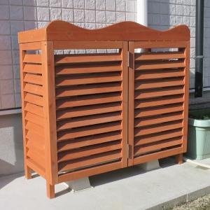 室外機カバー 木製品 木製室外機カバー・ルーバー 1個 通常価格4,860円より1,000円OFF|kokkaen