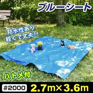 防水性があり、遮光、目隠し、土汚れ防止やレジャーなど様々なシーンで大活躍するブルーシート。 ハトメは...