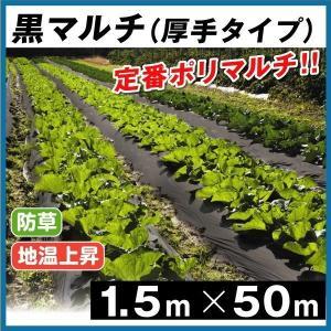 厚みがあって丈夫! 地温を上げ、雑草を抑制!  ●商品情報: 厚さ0.03ミリと厚みがあり、丈夫! ...