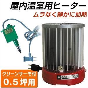 サーモ付パネルヒーター2台セット(0.5坪用) 1組|kokkaen