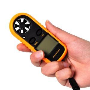 商品情報 風速と気温を手軽に計測! サイズ(約) 幅4×長さ10.5×高さ1.8(cm)    52...