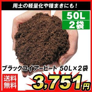ブラックコイアーピート50L 2袋1組(合計約100L)|kokkaen