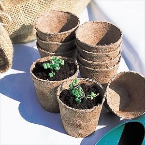 土壌改良 ジフィーポット 200個1組 国華園|kokkaen