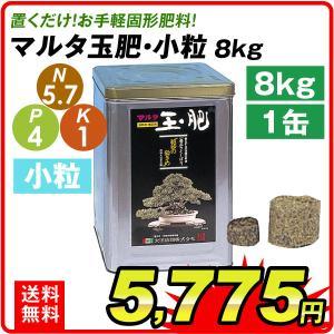 肥料 マルタ玉肥 8kg 小粒 1缶|kokkaen