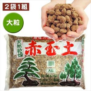 培養土  上質赤玉土 大粒16L 2袋1組 園芸土 kokkaen