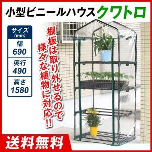 ビニールハウス 温室 小型ビニールハウス クワトロ 1個|kokkaen