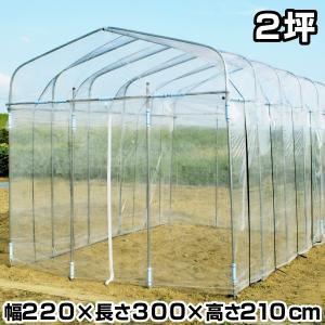 ビニールハウス ダイムハウス 2坪 1個 温室 |kokkaen