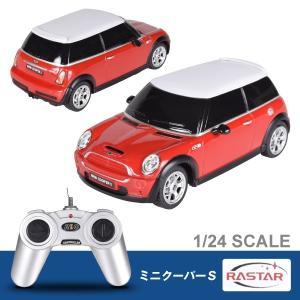 RCカー ラスター ミニクーパS 赤 1個 1/24スケール ラジコン|kokkaen