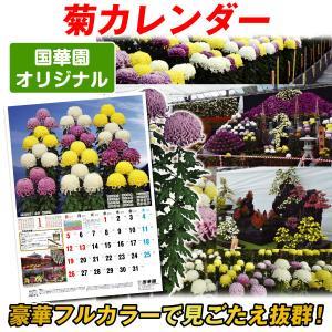 カレンダー 2019年度 菊カレンダー 1部 国華園オリジナル|kokkaen