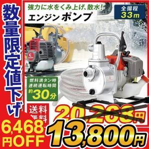 エンジン式 ポンプ 1台|kokkaen