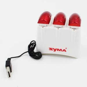 トイドローン X5UW専用 バッテリー 3.7V 500mAh 3個&3点マルチ充電器1個セット|kokkaen