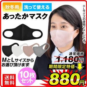 あったかマスク 10枚セット マスク 洗える 飛沫防止 国華園|kokkaen