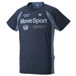 デサント/Move Sport ムーブスポーツ/2017春夏/BRZ+ ハーフスリーブシャツ/DAT5726 BLK|kokkidozao