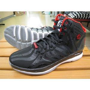 アディダス バスケットボールシューズ デリック ローズ 4.5/D ROSE 4.5/G99355/ブラック×ブラック×ライトスカーレット|kokkidozao